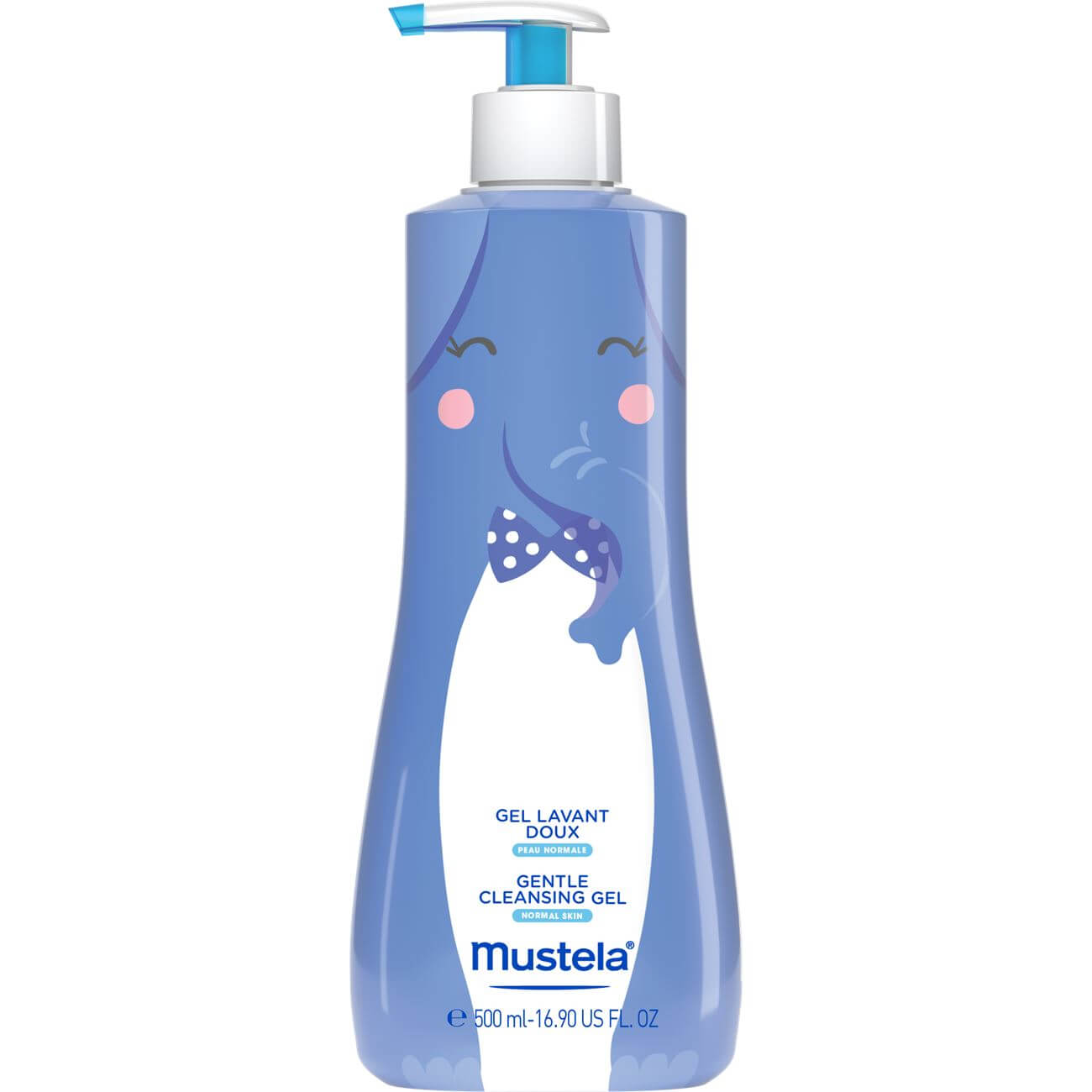 Mustela Special Edition Gentle Cleansing GelΒρεφικό-Παιδικό GelΚαθαρισμού για Σώμα & Μαλλιά 500ml