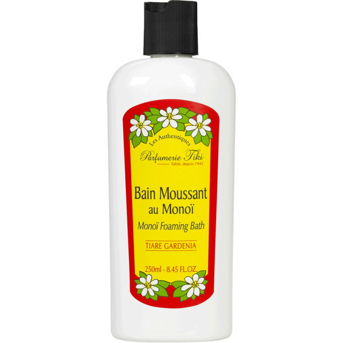 Monoi Tiki Foaming Bath Tiare Gardenia Αφρόλουτρο 250ml