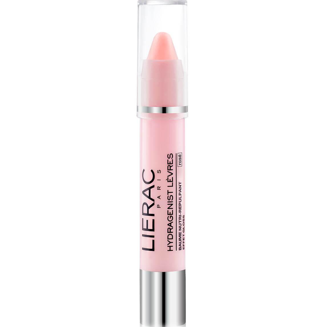 Lierac Hydragenist Lips Nutri Replumping Balm Rose Βάλσαμο Θρέψης & Επαναπύκνωσης για τα Χείλη με Αποτέλεσμα Ροζ Gloss 3g