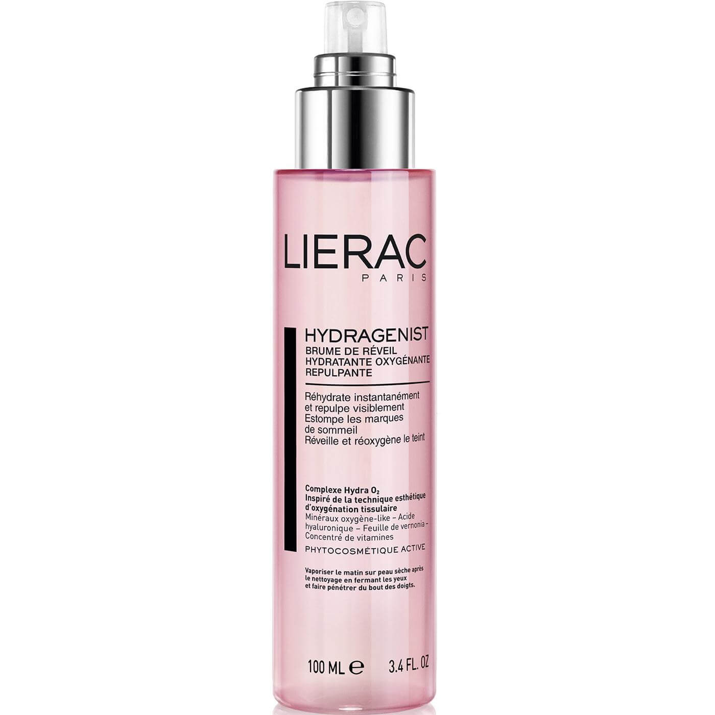 Lierac Hydragenist Morning Moisturizing Mist Oxygenating Replumping Mist Ενυδάτωσης, Οξυγόνωσης & Επαναπύκνωσης 100ml