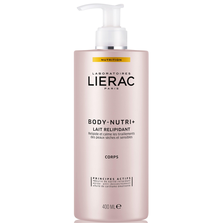 Lierac Body-Nutri+ Lait Relipidant Γαλάκτωμα Σώματος Κατά της Ξηρότητας, Αναπληρώνει τα Λιπίδια της Επιδερμίδας 400ml