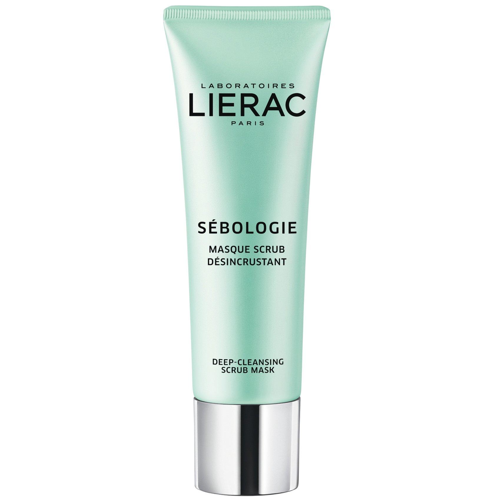 Lierac Sebologie Deep-Cleansing Scrub Mask Απολεπιστική Μάσκα Προσώπου για Καθαρισμό της Επιδερμίδας σε Βάθος 50ml