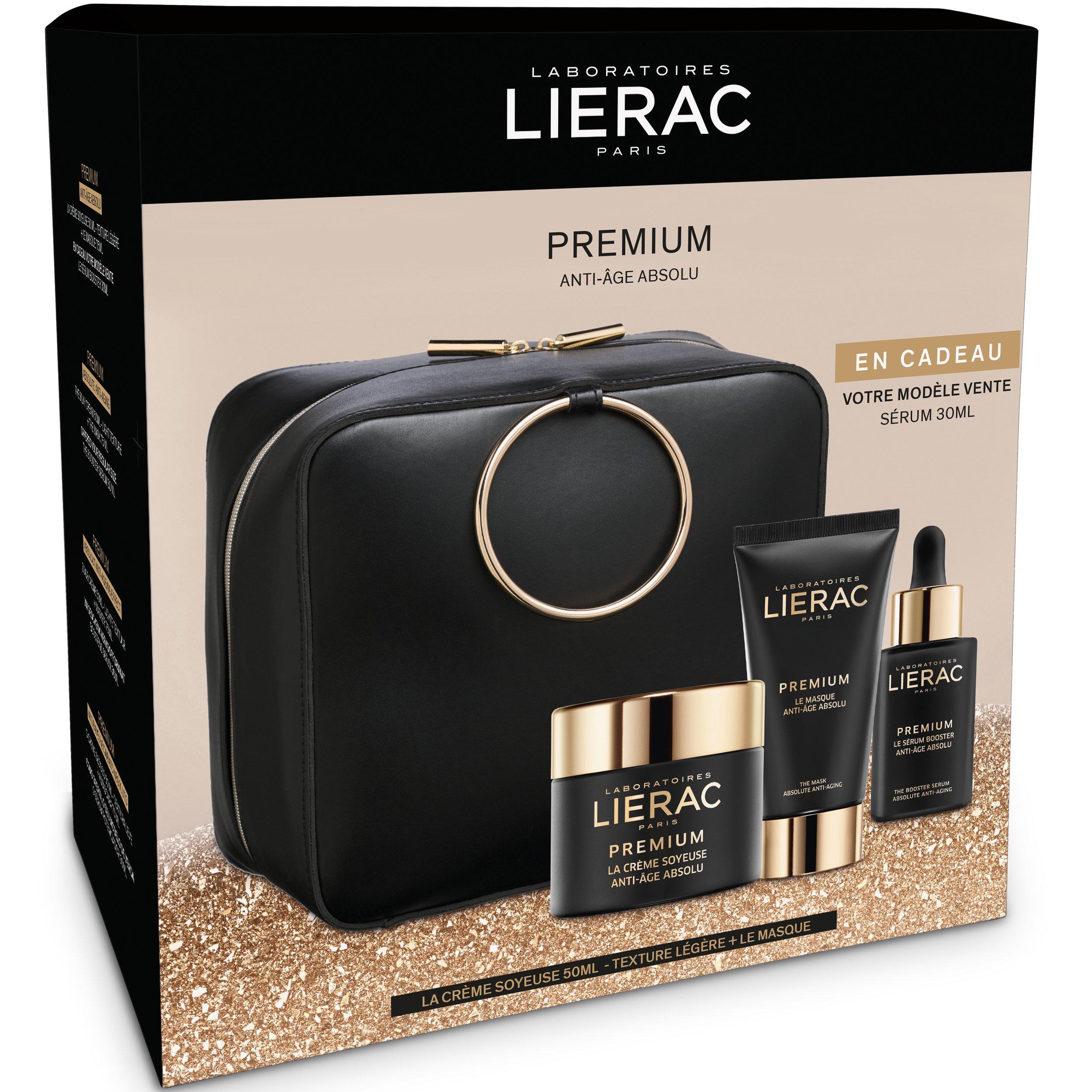 Lierac Gift Box Premium La Creme Soyeuse Legere 50ml, Premium La Masque 75ml & Δ προσφορές   σετ περιποίησης προσώπου   σετ αντιγήρανσης και σύσφιξης