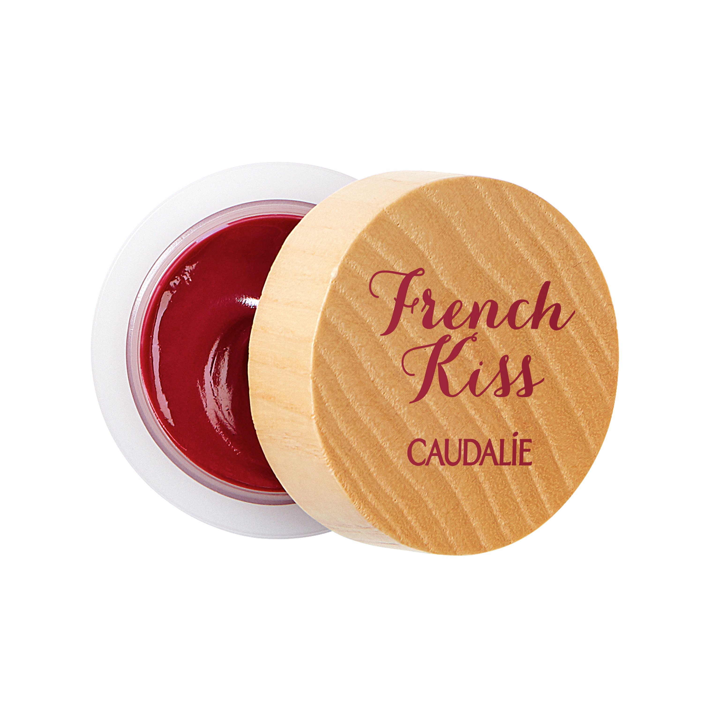 Caudalie French Kiss Tinted Lip Balm Addiction Ενυδατικό Βάλσαμο Χειλιών, Χαϊδεύει τα Χείλη με Κόκκινη Απόχρωση Βατόμουρου 7.5gr