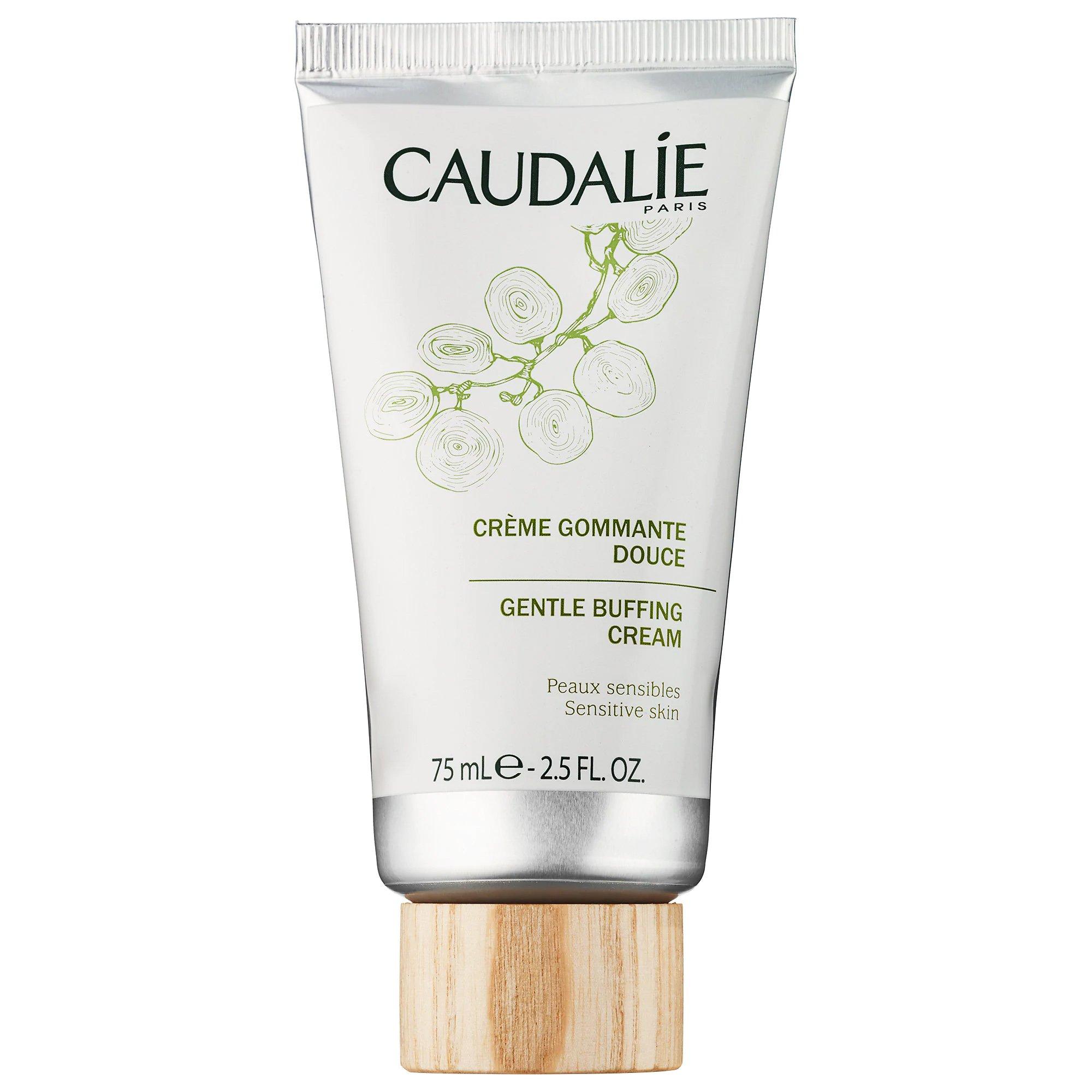 Caudalie Gentle Buffing Cream Απαλή Κρέμα Καθαρισμού Προσώπου Ήπιας Απολέπισης 75ml