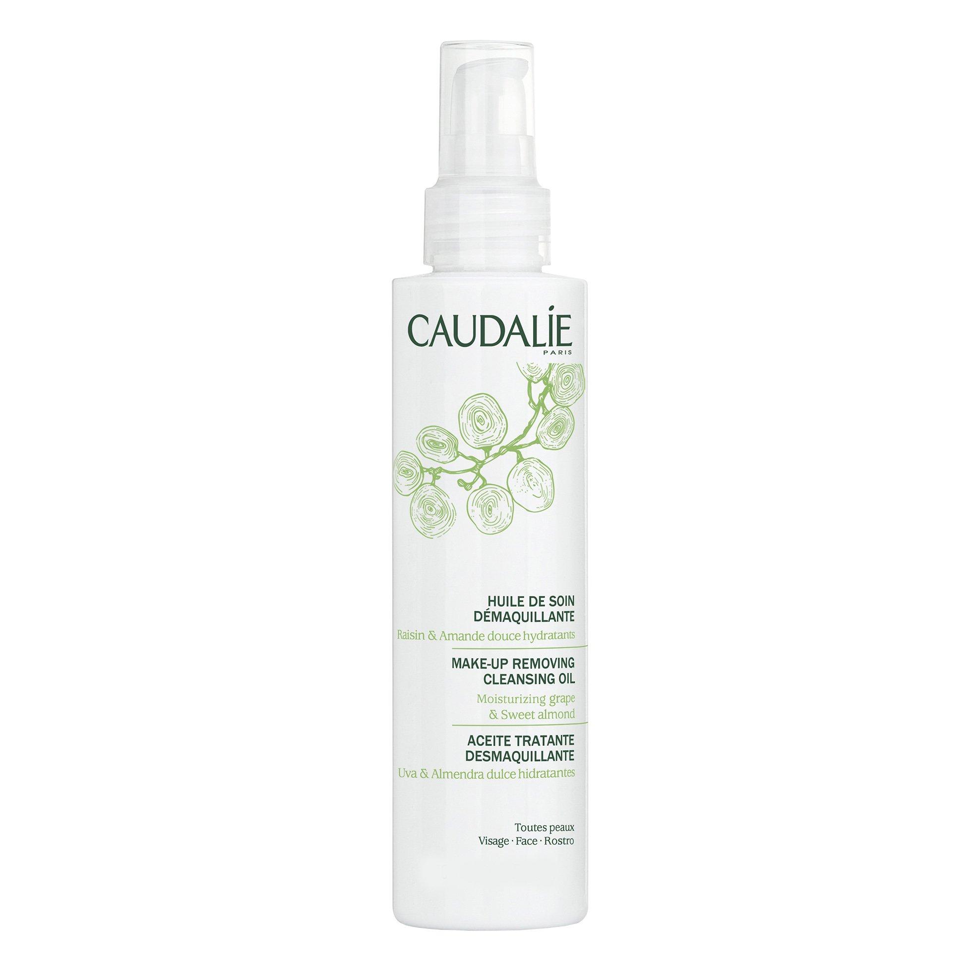 Caudalie Make-Up Removing Cleansing Oil Έλαιο Καθαρισμού & Ντεμακιγιάζ για Όλους τους Τύπους Επιδερμίδας 75ml