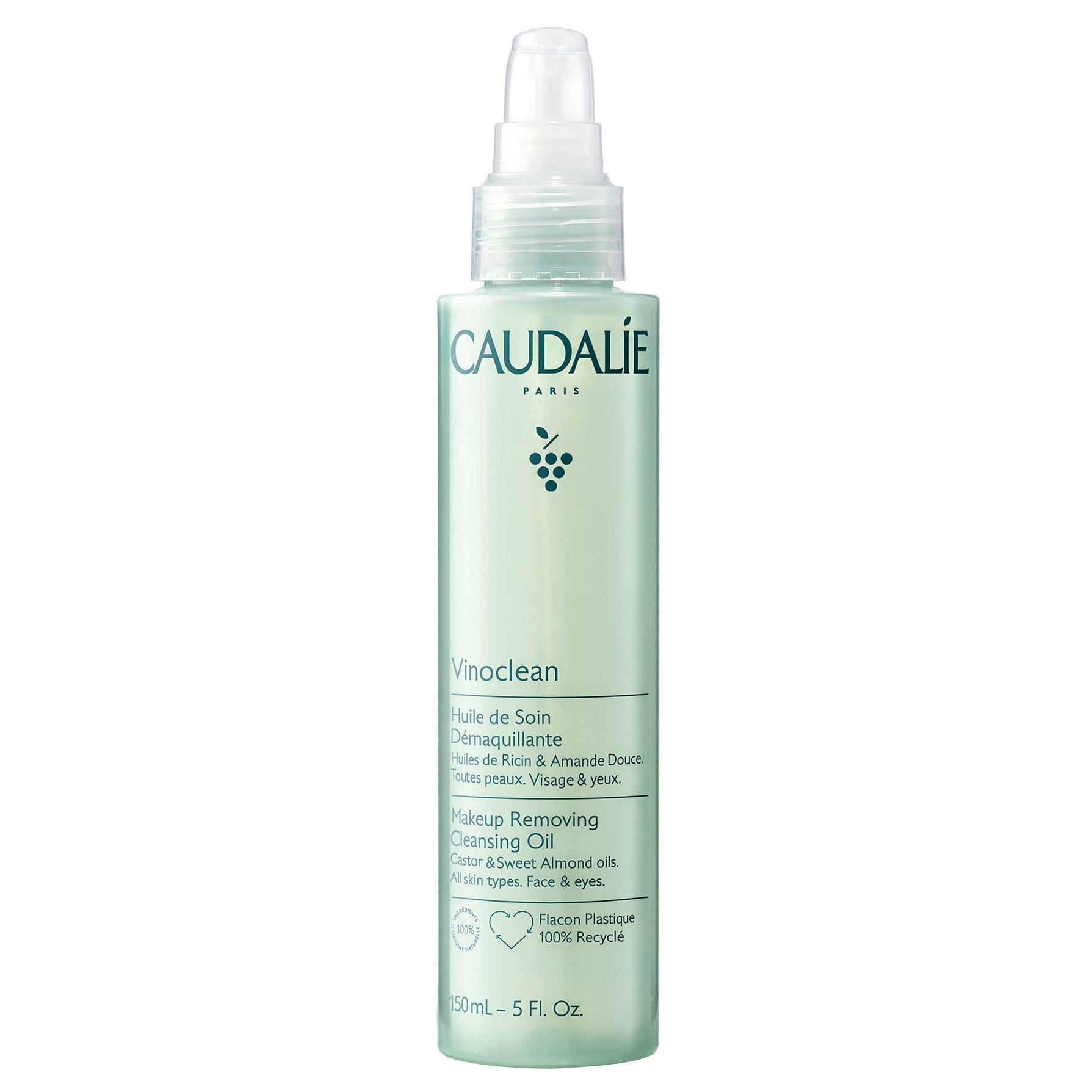 Caudalie Vinoclean Makeup Removing Cleansing Oil Έλαιο Ντεμακιγιάζ & Καθαρισμού Προσώπου Ματιών Όλοι οι Τύποι Επιδερμίδας 150ml