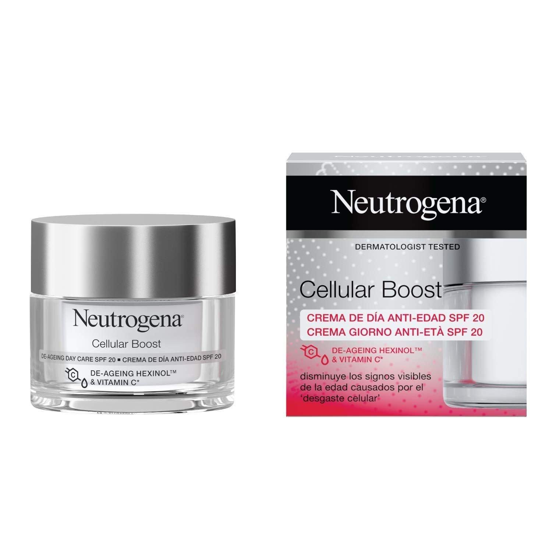 Neutrogena Cellular Boost De-Ageing Day Care SPF20 Αντιρυτιδική Κρέμα Προσώπου Ημέρας 50ml