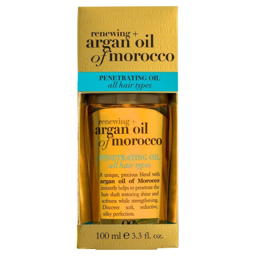 OGX Argan Oil of Morocco Penetrating Oil Πολύτιμο Έλαιο Θρέψης για Ενδυνάμωση, Λάμψη & Απαλότητα στα Αδύναμα Μαλλιά 100ml