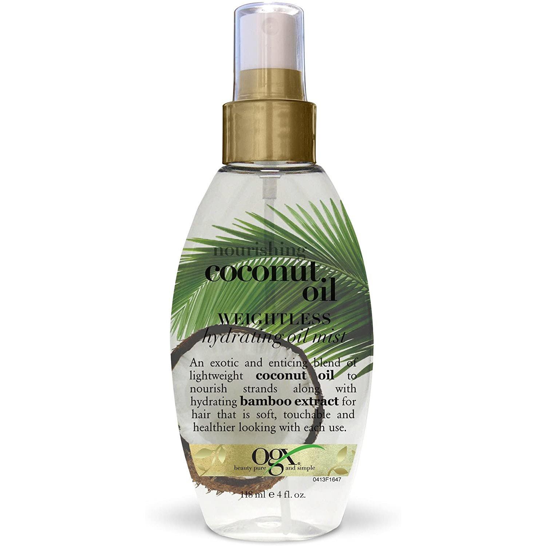 OGX Coconut Oil Weightless Hydrating Oil Mist Θρέψης, Ενυδάτωσης & Ελαστικότητας των Μαλλιών 118ml