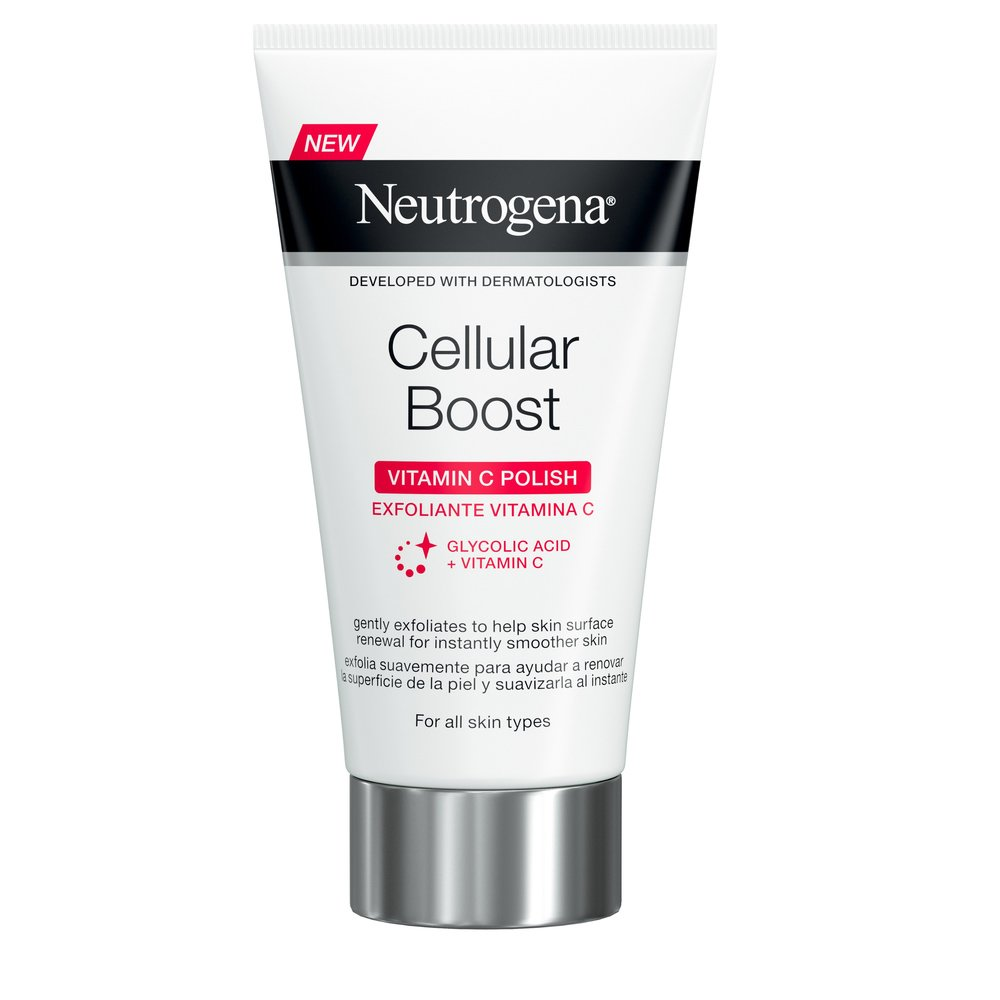 Neutrogena Cellular Boost Vitamin C Polish Κρέμα Απολέπισης Προσώπου 75ml