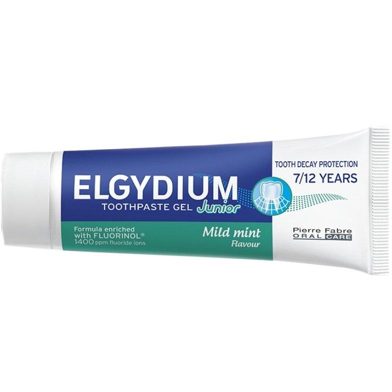 Elgydium Junior Sweet Mint Παιδική Οδοντόκρεμα με Ήπια Γεύση Μέντας 7 – 12 Ετών 50ml