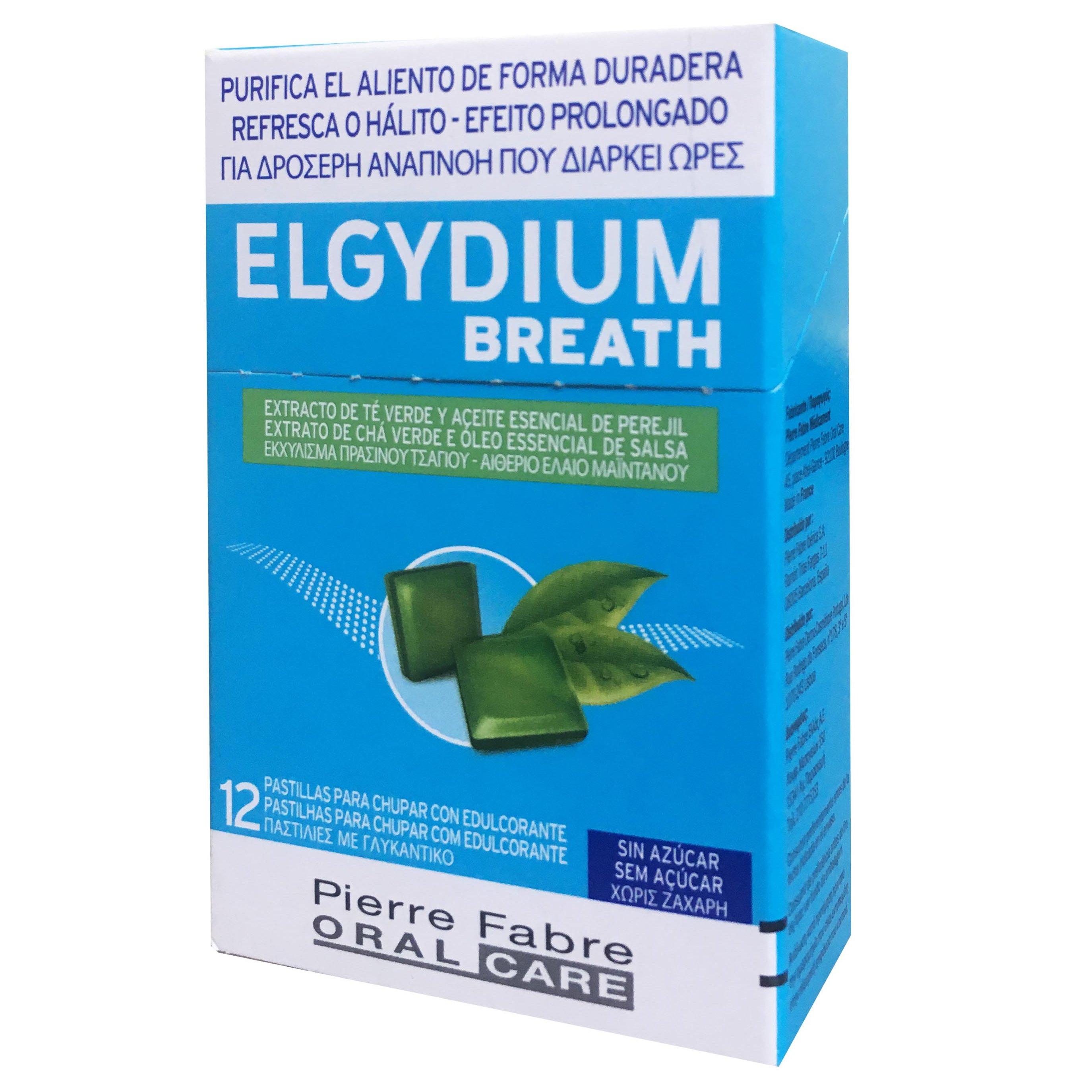 Elgydium Breath Pastilles Παστίλιες για την Εξουδετέρωση της Κακοσμίας του Στόματος 12 Τεμάχια