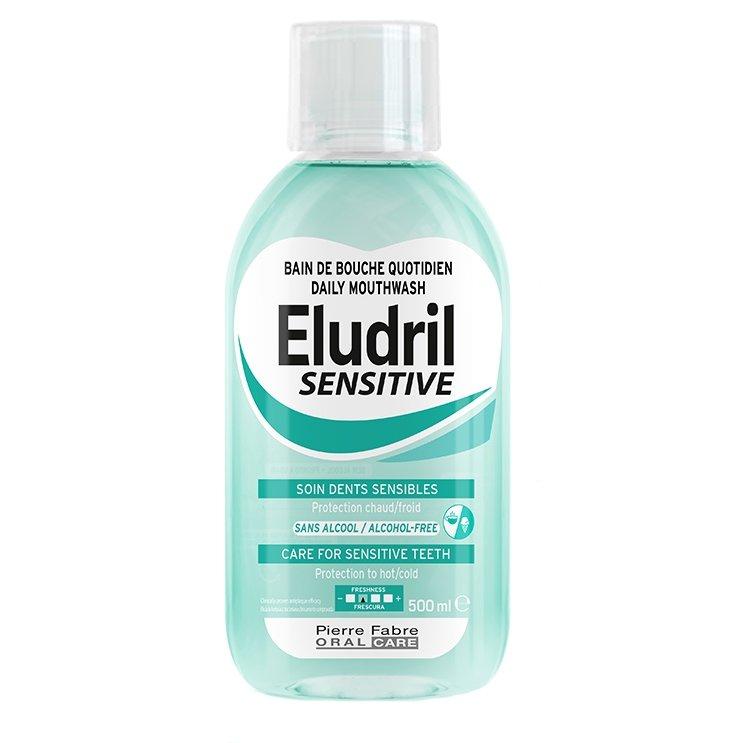 Eludril Sensitive Mouthwash for Sensitive Teeth Στοματικό Διάλυμα για Ευαίσθητα Δόντια 500ml