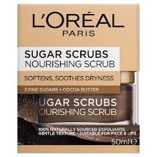 L'oreal Paris Smooth Sugar Nourish Scrub για Λείανση & Θρέψη της Επιδερμίδας 50ml
