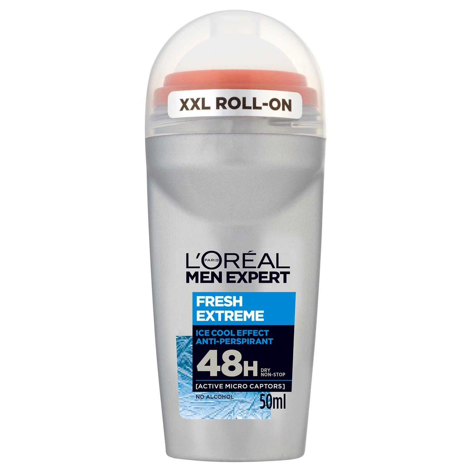 L'oreal Paris Men Expert Fresh Extreme Roll-On Ανδρικό Αποσμητικό με 48ωρη Ολική Προστασία για Στεγνή Επιδερμίδα 50ml