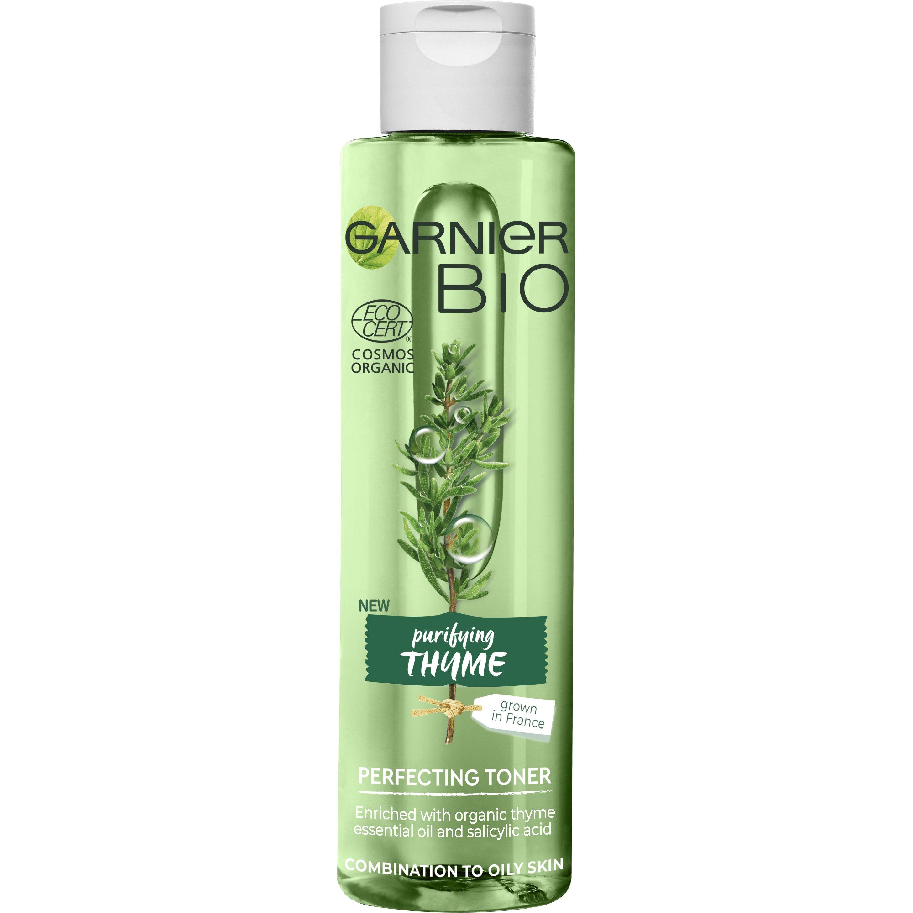 Garnier Bio Purifying Thyme Perfecting Toner Τονωτική Λοσιόν Προσώπου με Αιθέριο Έλαιο Βιολογικού Θυμαριού 150ml