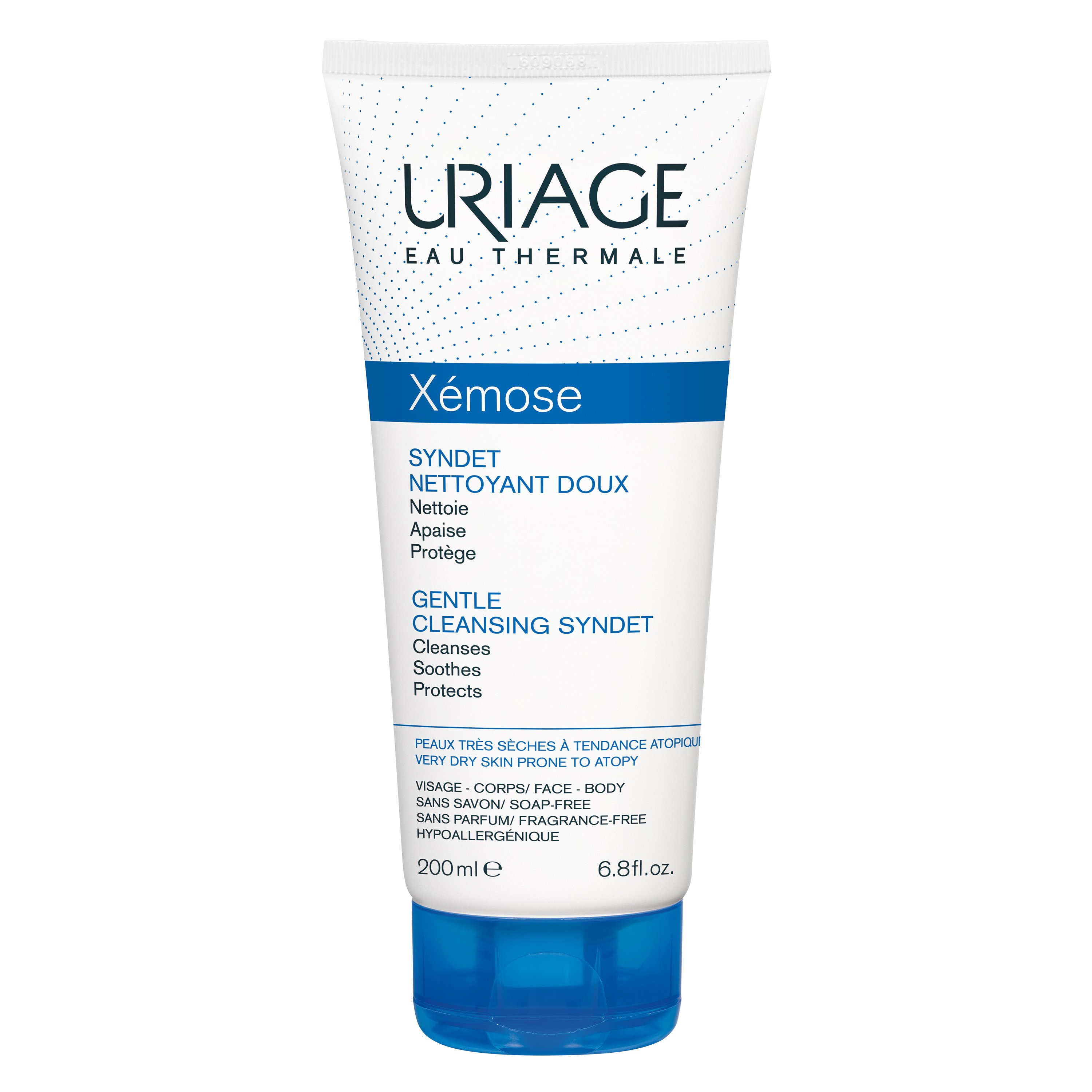 Uriage Eau Thermale Xemose Gentle Cleansing Syndet Εξαιρετικά Ήπια Τζελ Κρέμα Καθαρισμού 200ml
