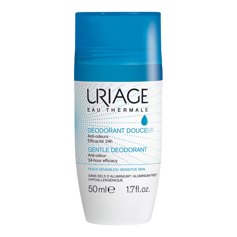 Uriage Eau Thermale Gentle Deodorant Απαλό Αποσμητικό 24ωρης Δράσης για τις Ευαίσθητες Επιδερμίδες 50ml