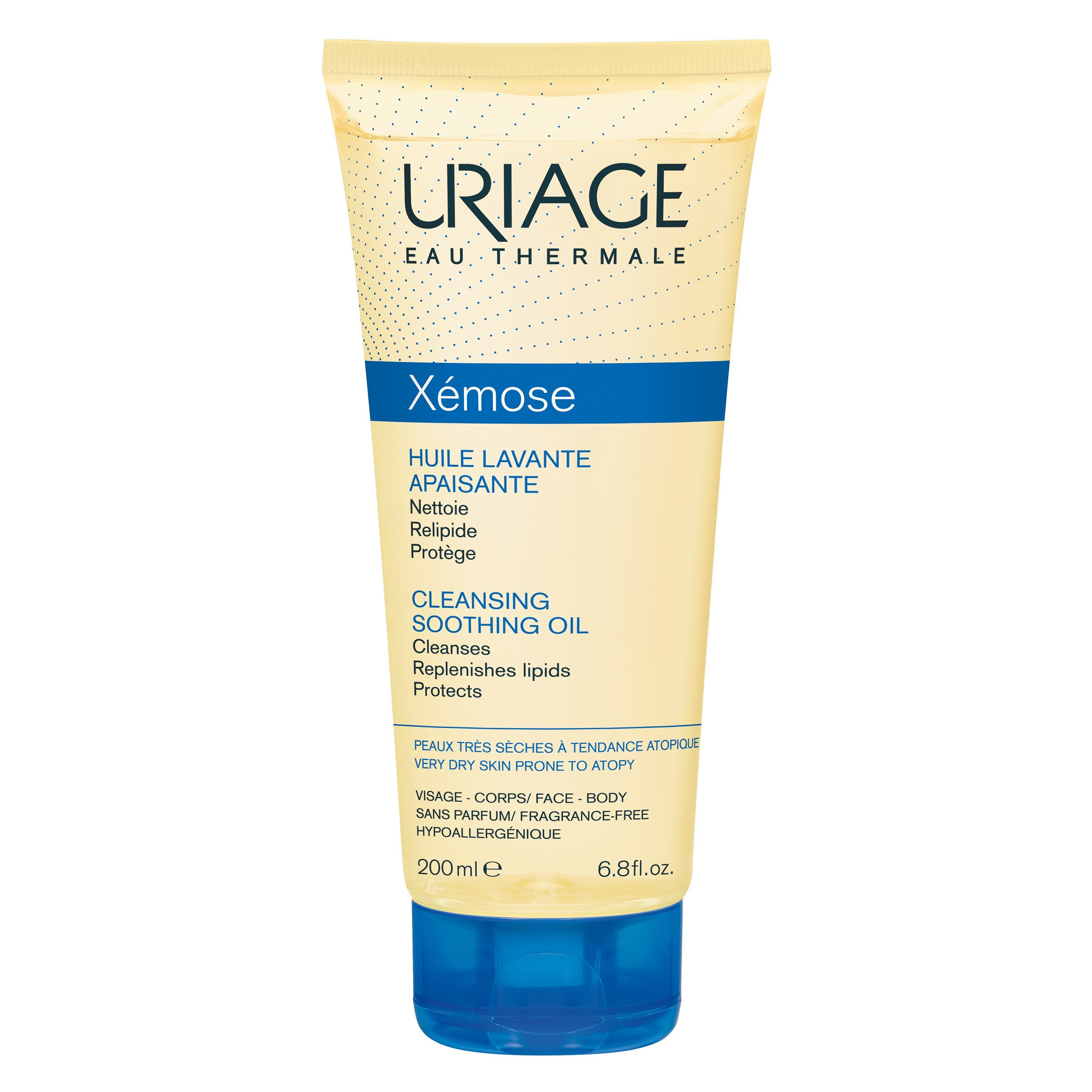 Uriage Eau Thermale Xemose Cleansing Soothing Oil Λάδι Καθαρισμού που Προστατεύει Από την Ξηρότητα 200ml