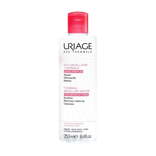 Uriage Eau Thermale Micellar Water Fragrance Free Αφαιρεί Τέλεια το Μακιγιάζ Από Κάθε Τύπο Δέρματος 250ml