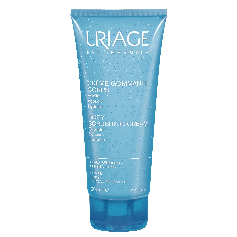 Uriage Eau Thermale Body Scrubbing Cream Κρέμα Απολέπισης Σώματος, Ιδανική για Ευαίσθητη Επιδερμίδα 200ml