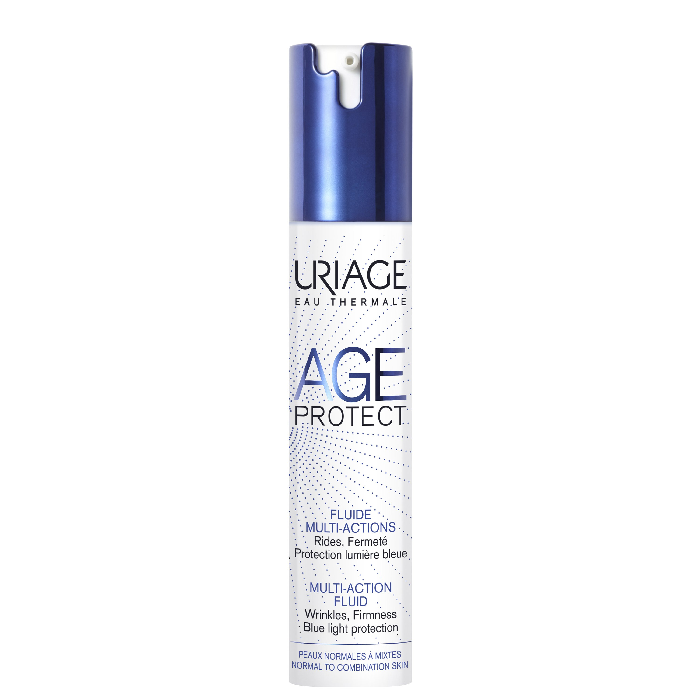 Uriage Eau Thermale Age Protect Multi Action Fluid Καταπολεμά Τόσο τα Σημάδια Γήρανσης Όσο και τους Επιθετικούς Παράγοντες 40ml