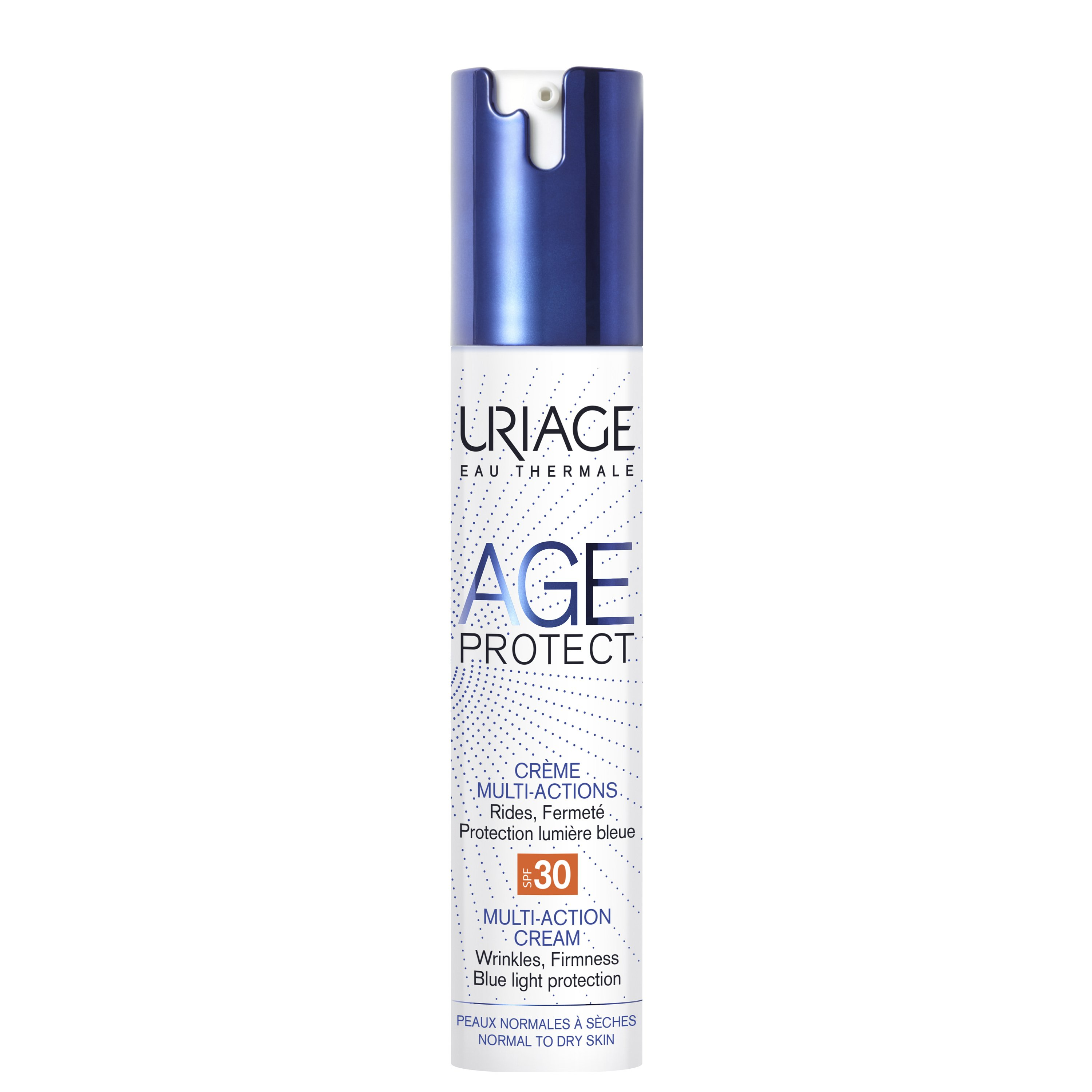 Uriage Eau Thermale Age Protect Multi-Action Cream Spf30 Αντιγηραντική Κρέμα για Κανονικές Προς Ξηρές Επιδερμίδες 40ml