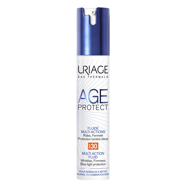 Uriage Eau Thermale Age Protect Multi-Action Fluid Spf30 Αντιγηραντική Λεπτόρρευστη Φροντίδα, Κανονικές Μικτές Επιδερμίδες 40ml