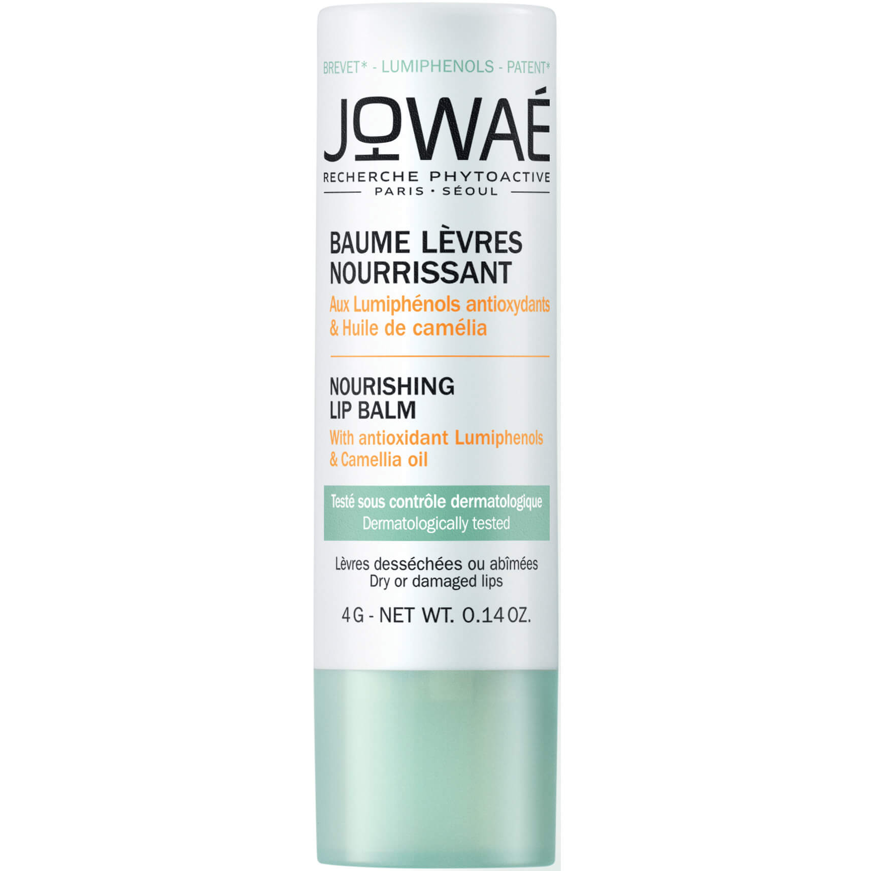 Jowae Nourishing Lip Balm Θρεπτικό Balm Χειλιών Φροντίδα για Ξηρά ή Ταλαιπωρημένα Χείλη 4g