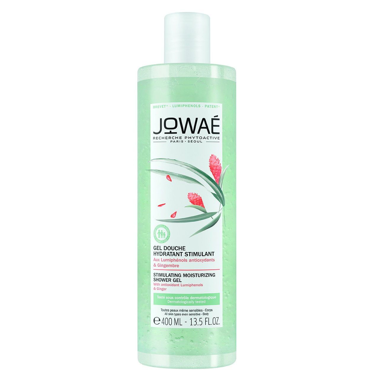Jowae Stimulating Moisturizing Shower Gel Τονωτικό Ενυδατικό Αφρόλουτρο με Αντιοξειδωτικές Φωτοφαινόλες & Ginger 400ml