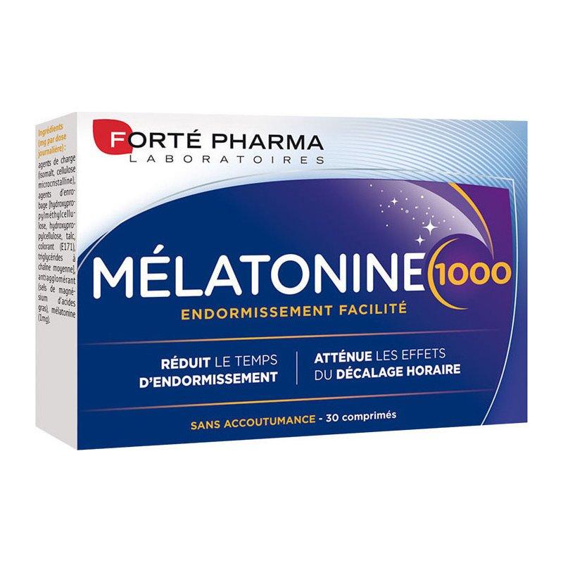 Forte Pharma Melatonine 1000 Συμπλήρωμα Μελατονίνης για την Καταπολέμιση της Αϋπνίας 30tabs