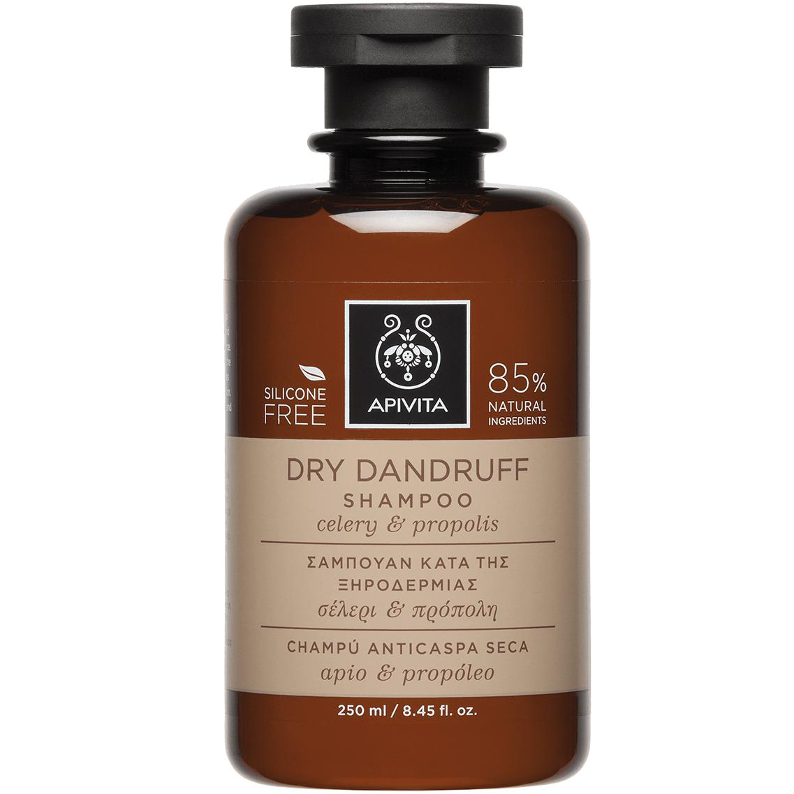 Apivita Dry Dandruff Σαμπουάν Κατά της Ξηροδερμίας με Σέλερι & Πρόπολη 250ml