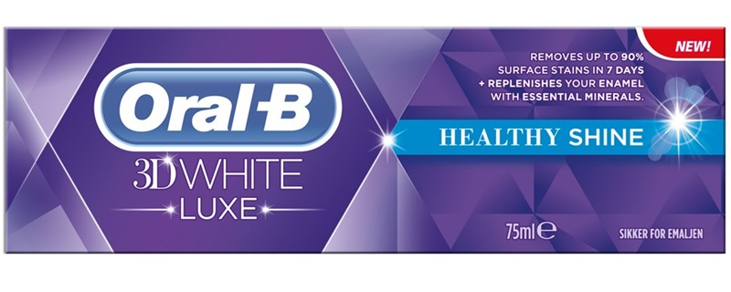 Oral-B Οδοντόκρεμα 3D White Luxe Healthy Shine Toothpaste 75ml