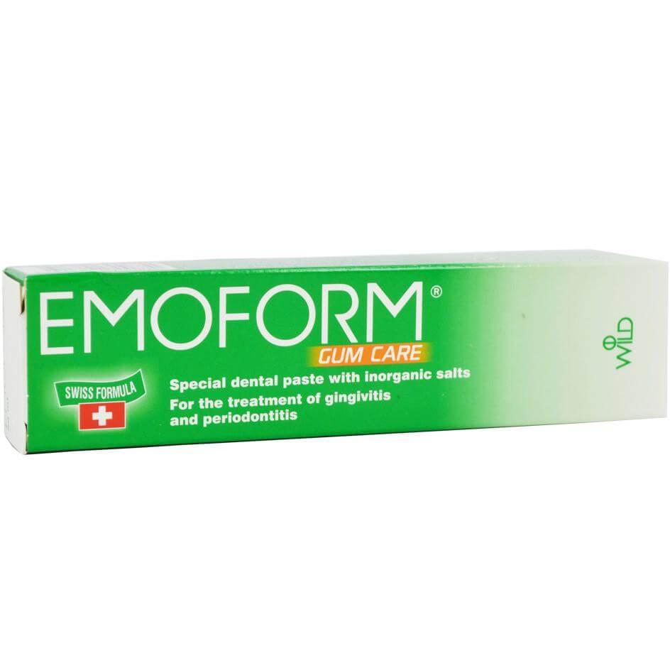 Emoform Gum Care Ειδική Οδοντόκρεμα με Ανόργανα Άλατα, για την Αντιμετώπιση της Ουλίτιδας & της Περιοδοντίτιδας 50ml