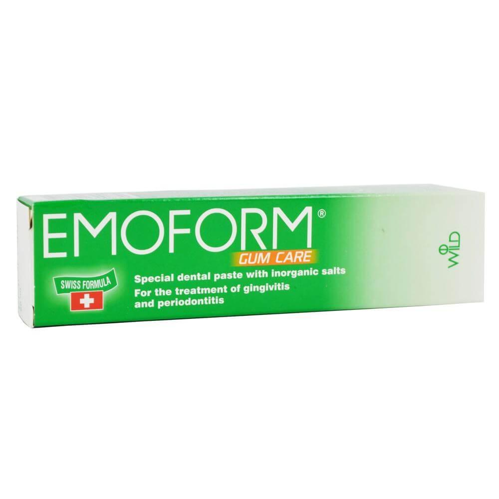 Emoform Gum Care Swiss Ειδική Οδοντόκρεμα με Ανόργανα Άλατα, για την Αντιμετώπιση της Ουλίτιδας & της Περιοδοντίτιδας 50ml