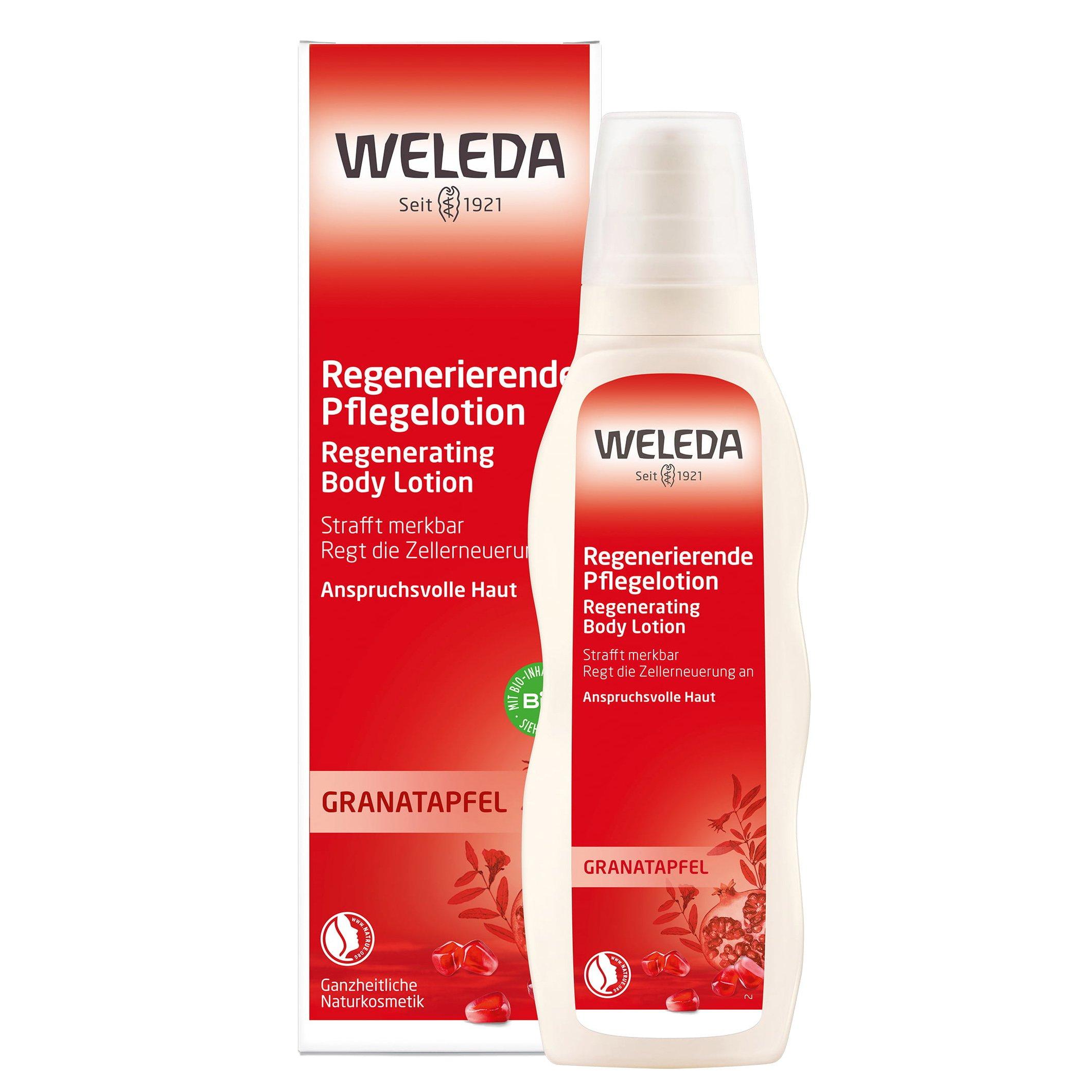 Weleda Pomegranate Regenerating Body Lotion Γαλάκτωμα Αναζωογόνησης με Ρόδι για την Πρόωρη Γήρανση της Επιδερμίδας 200ml