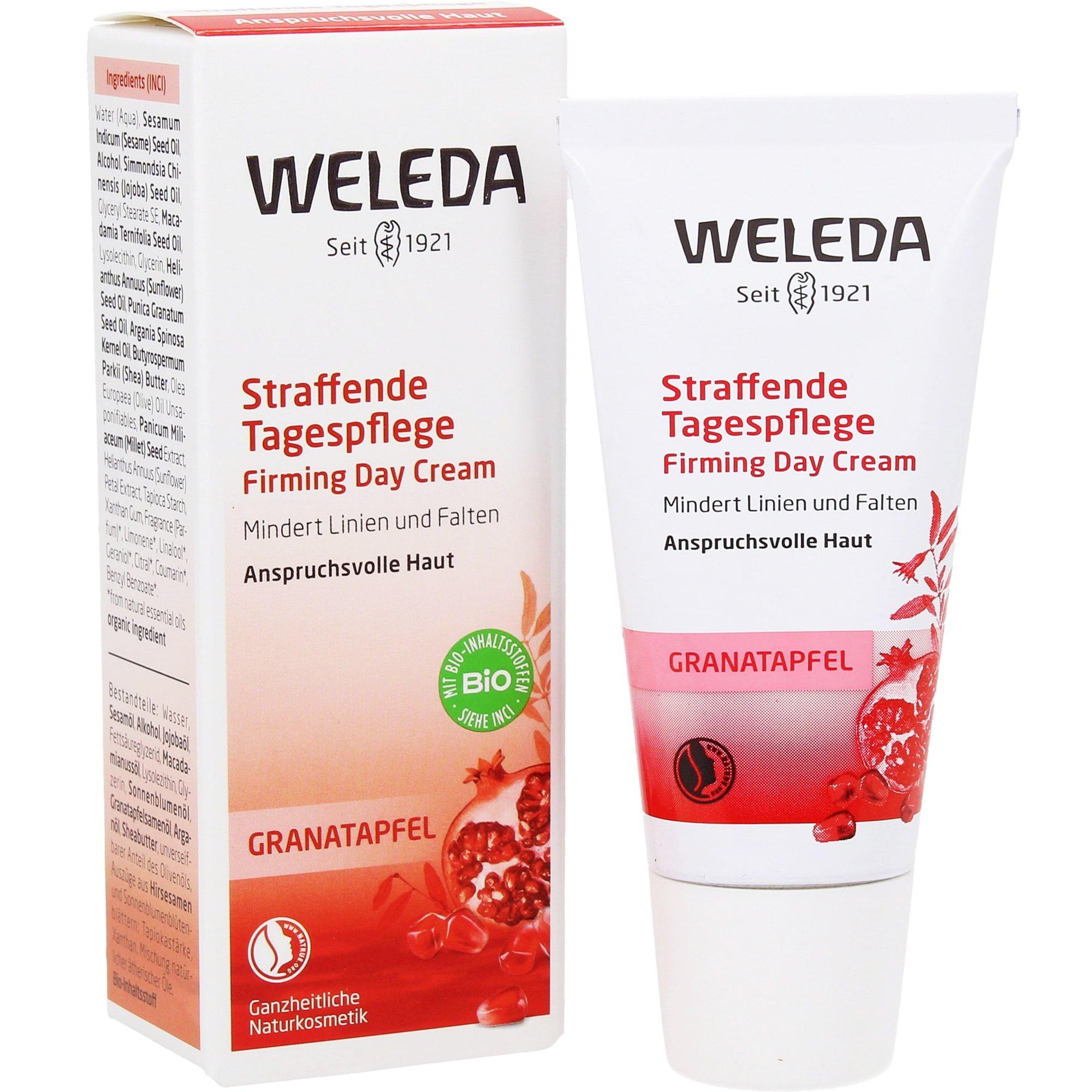 Weleda Pomegranate Firming Day Cream Συσφιγκτική Κρέμα Ημέρας με Ρόδι για Ανανέωση, Προστασία & Λαμπερό Δέρμα 30ml