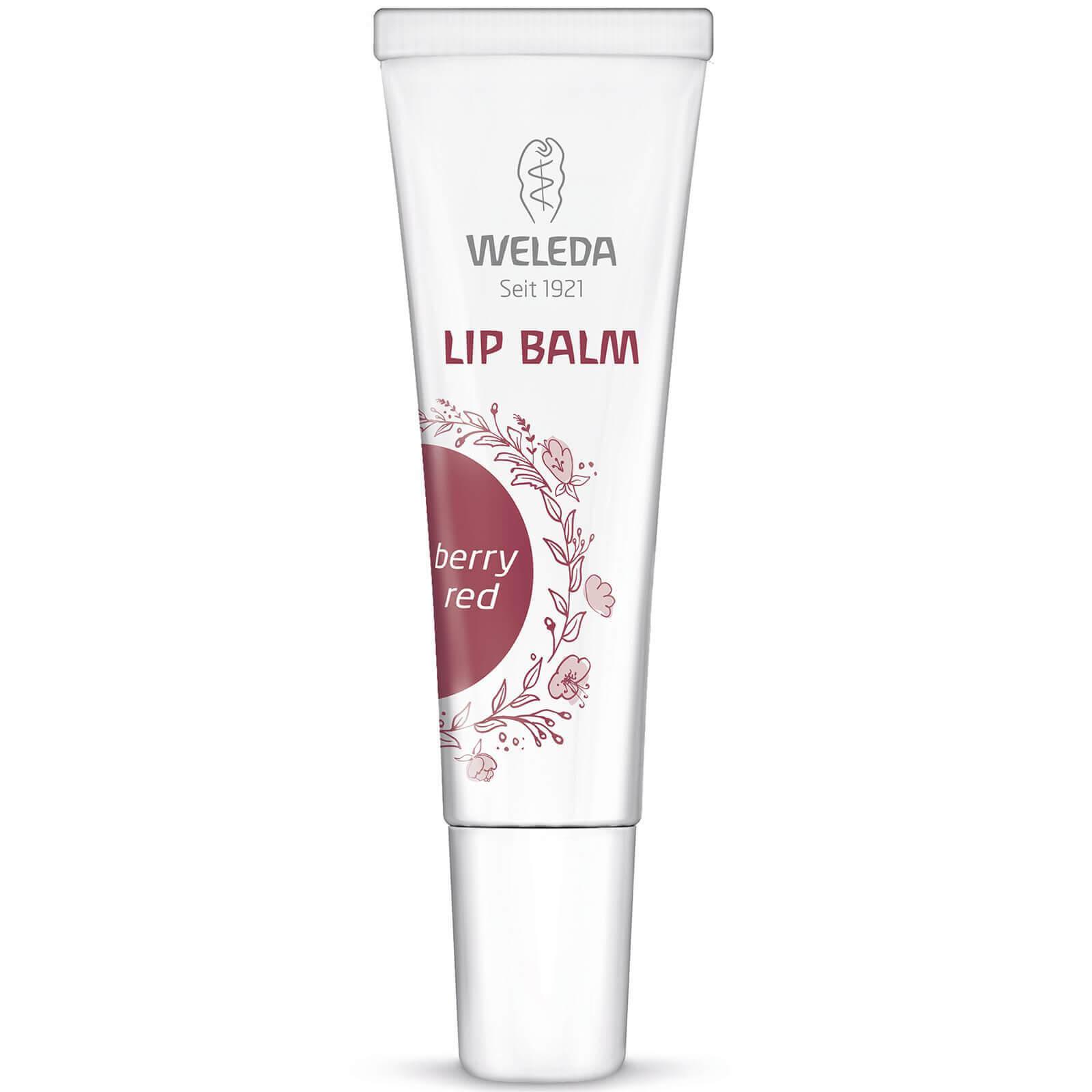 Weleda Lip Balm Berry Red Φυσική Περιποίηση με Διακριτικό Χρώμα Φρούτων του Δάσους 10ml