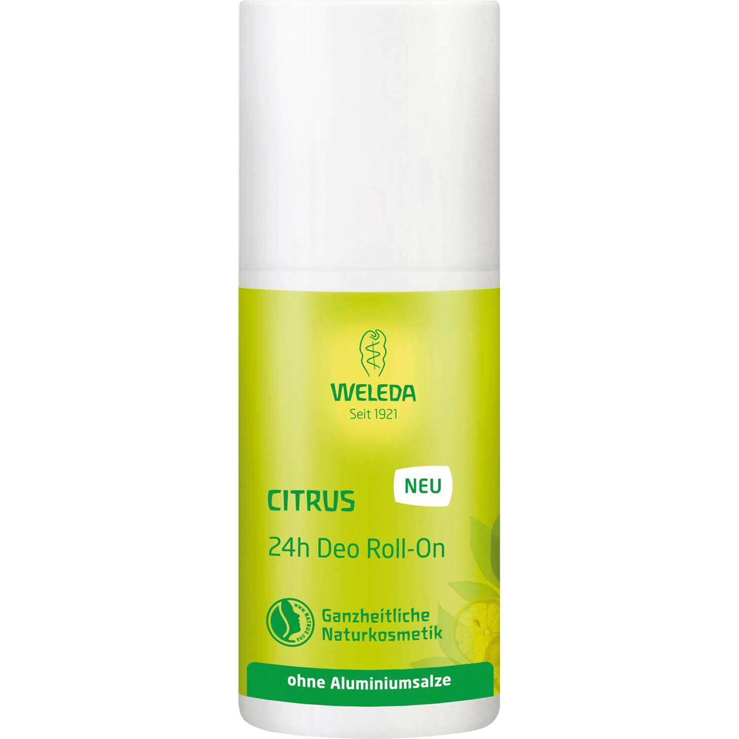 Weleda Citrus 24h Deo Roll-On Αποσμητικό Roll-On 24ωρης Προστασίας και Φυσικής Φρεσκάδας με Κίτρο 50ml