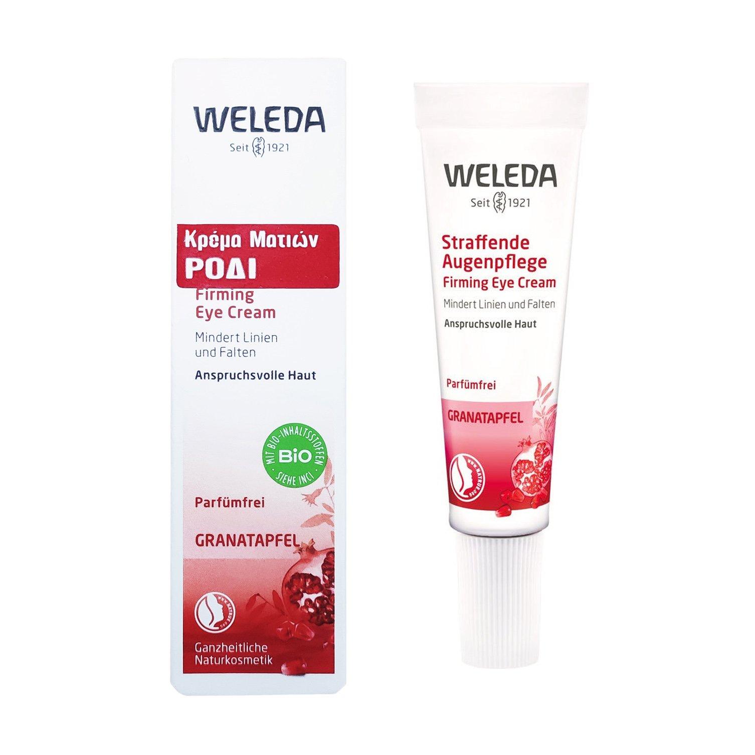 Weleda Firming Eye Cream Κρέμα Ματιών με Ρόδι Ειδικά Σχεδιασμένη για το Δέρμα Γύρω Από τα Μάτια 10ml