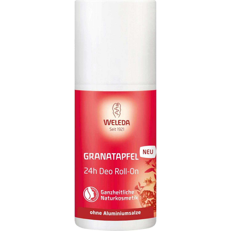 Weleda Granatapfel 24h Deo Roll-On Αποσμητικό Roll-On 24ωρης Προστασίας με Ρόδι για Αισθησιακό Άρωμα 50ml