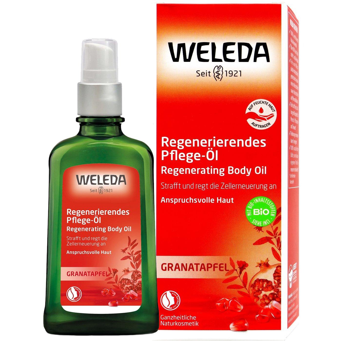 Weleda Granataprel Oil Λάδι με Ρόδι Ενισχύει Την Ανανέωση Των Κυττάρων Και Επαναφέρει Την Ισορροπία Της Υγρασίας 100ml
