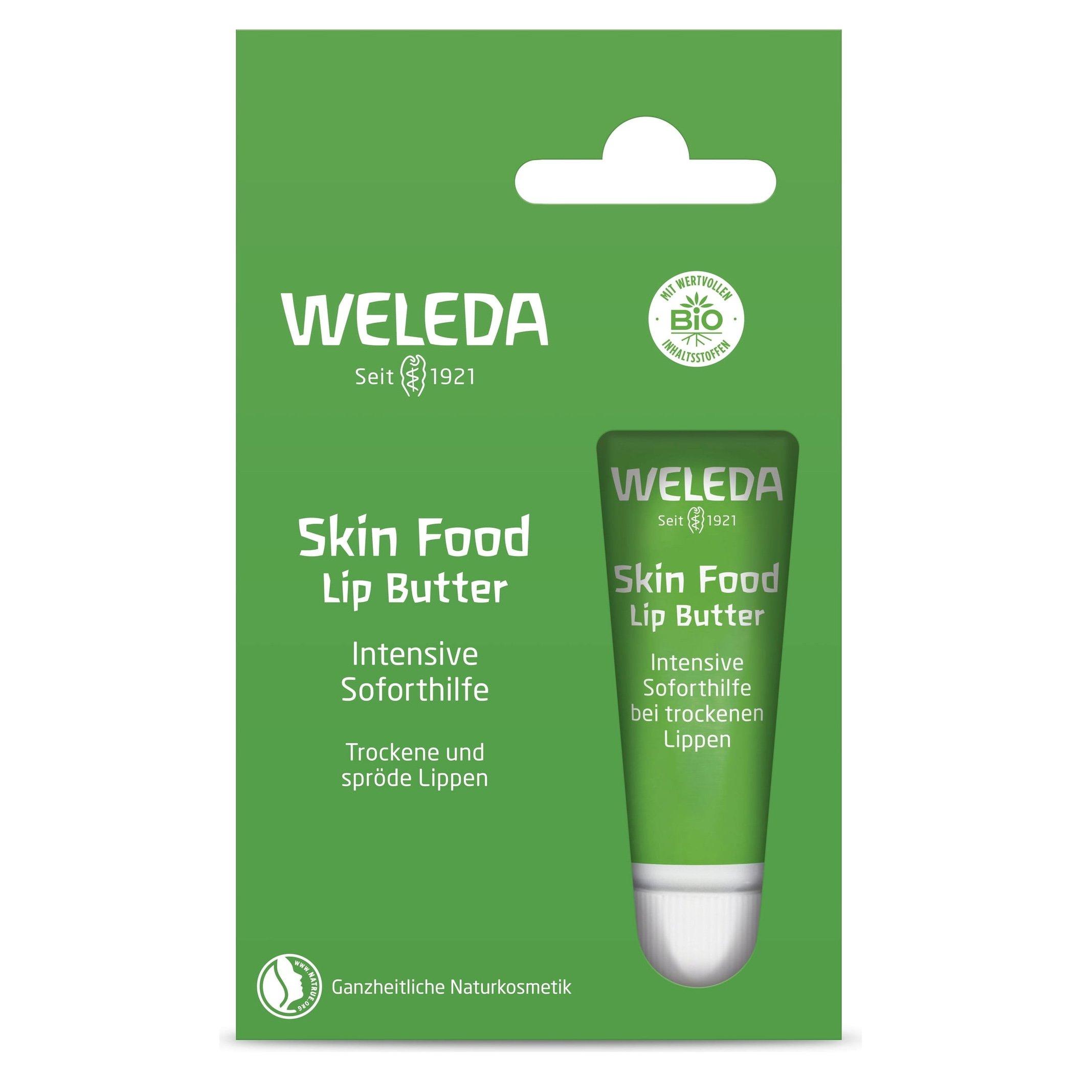 Weleda Skin Food Lip Butter Ενυδατικό Βούτυρο Χειλιών για Ξηρά & Σκασμένα Χείλη 8ml