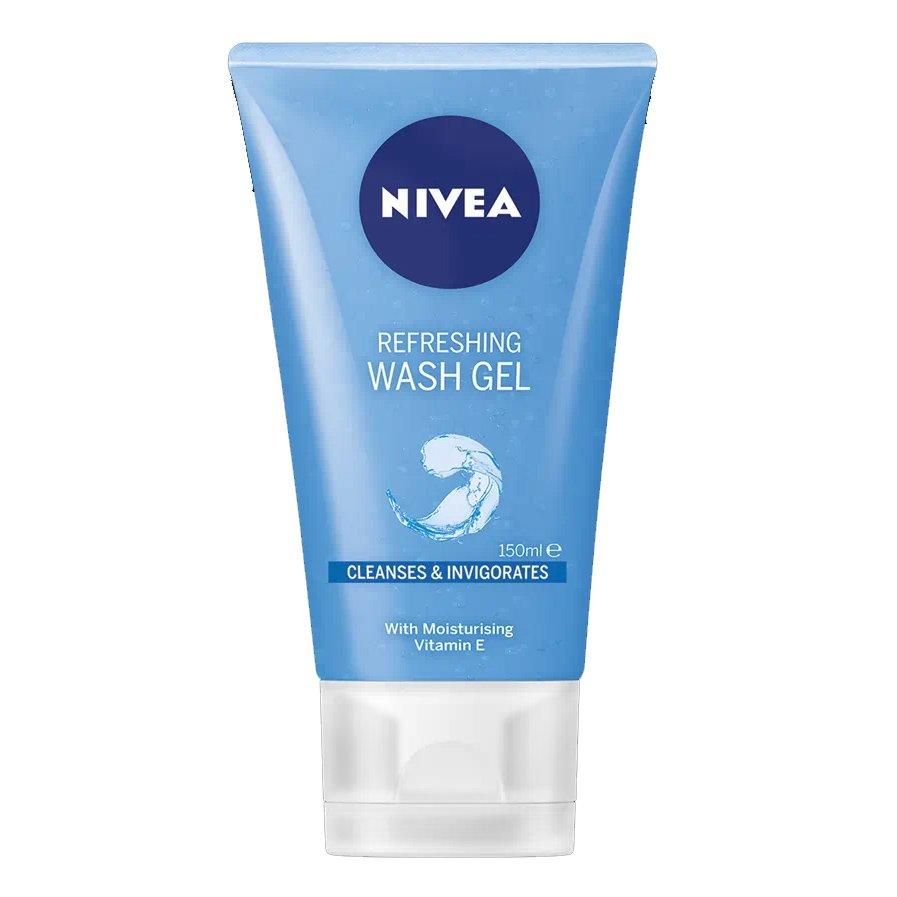 Nivea Daily Essentials Refreshing Facial Wash Gel Δροσιστικό Τζελ Καθαρισμού Προσώπου 150ml