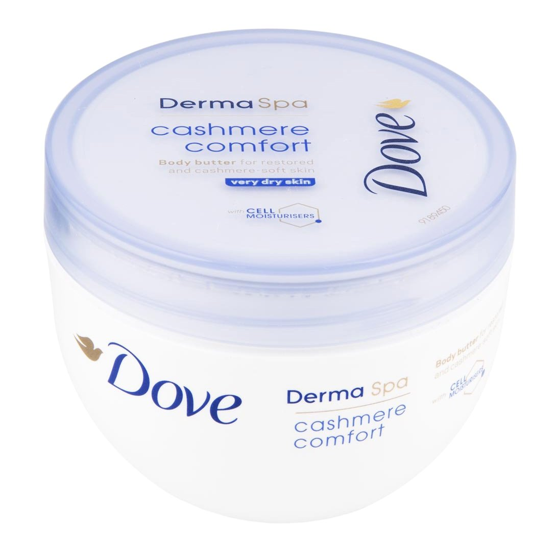 Dove DermaSpa Cashmere Comfort Body Butter Ενυδατική Κρέμα Σώματος 300ml