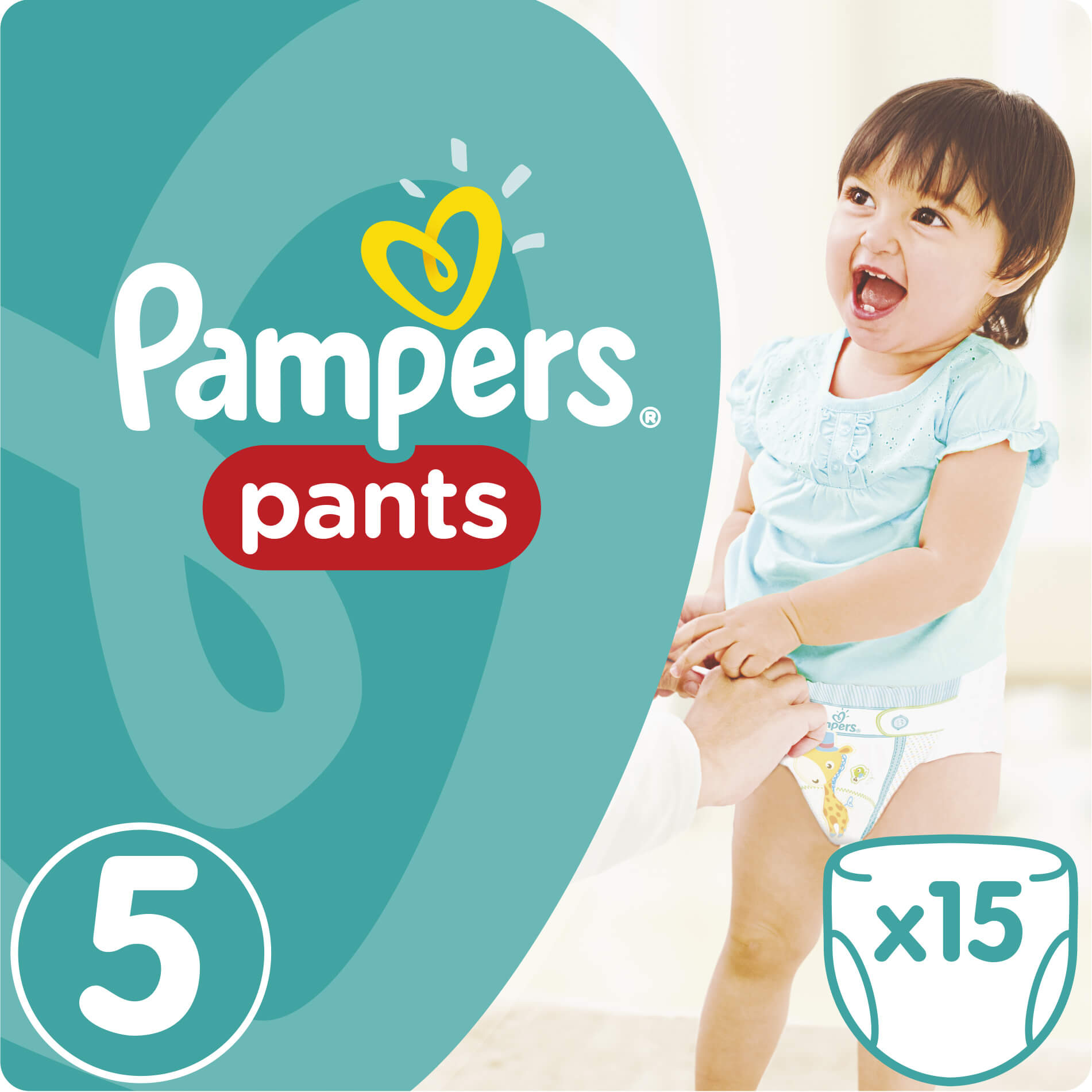 Pampers Pants No5 Junior (12-18kg) 15 πάνες