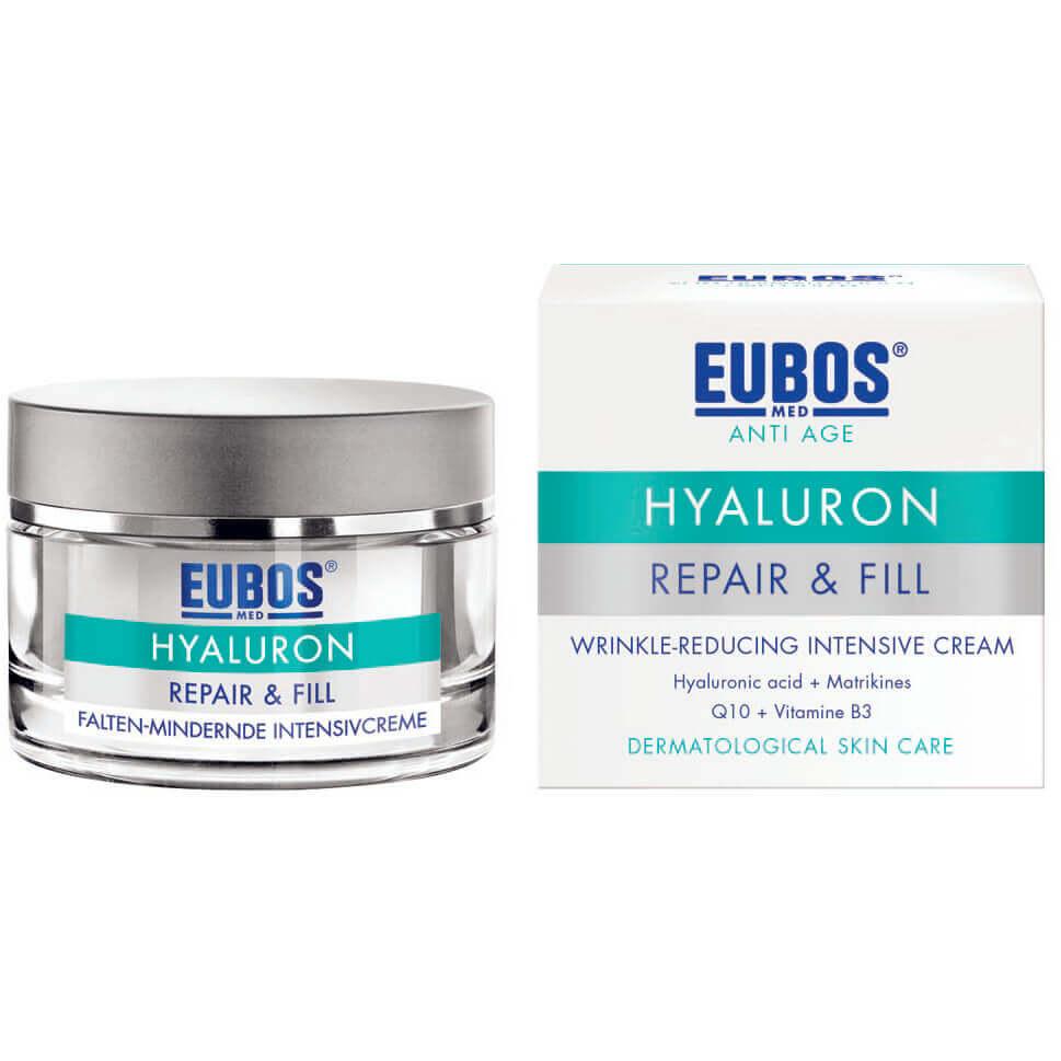 Eubos Sensitive Hyaluron Repair & Fill Creme Εντατική Κρέμα Κατά των Ρυτίδων με Υαλουρονικό Οξύ 50ml
