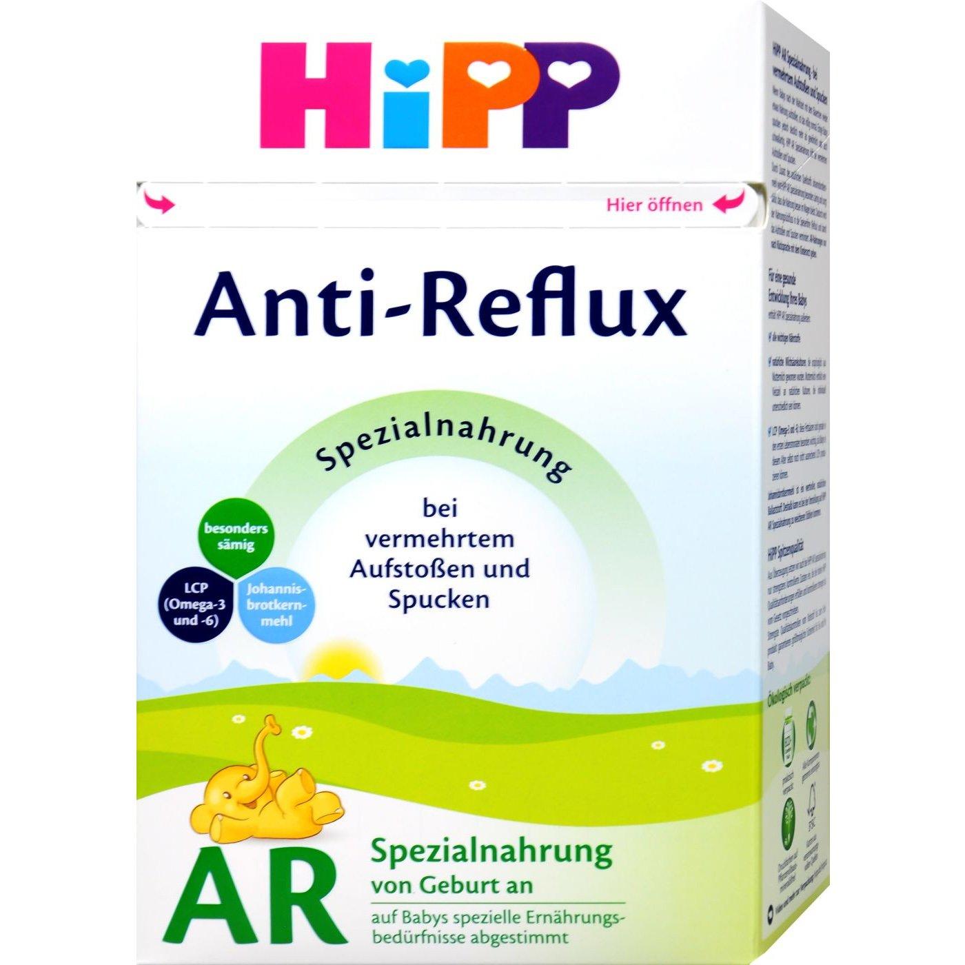 Hipp AR Anti Reflux Αντιαναγωγικό Γάλα Βοηθά σε Συχνές Ερυγές & Αναγωγές 500 gr