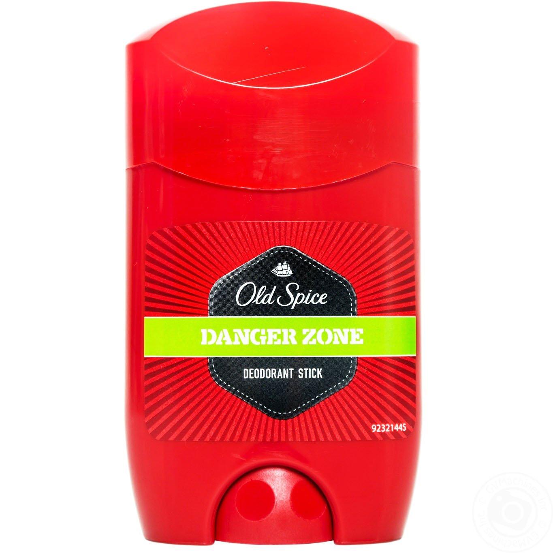 Old Spice Danger Zone Deodorant Stick Αντιμετωπίζει Αποτελεσματικά την Ανεπιθύμητη Εφίδρωση 150ml